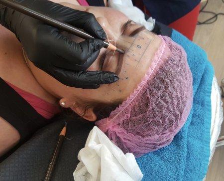 Ausbildung Permanent Make-up Lidstrich, Augenbrauen